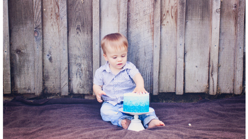 Kade's First Birthday + Smash Cake