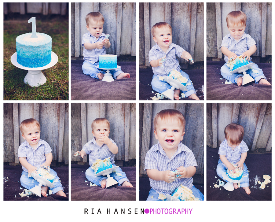 Smash cake pics for first birthday