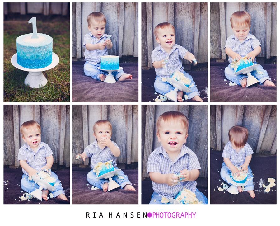 Smash cake pics for first birthday