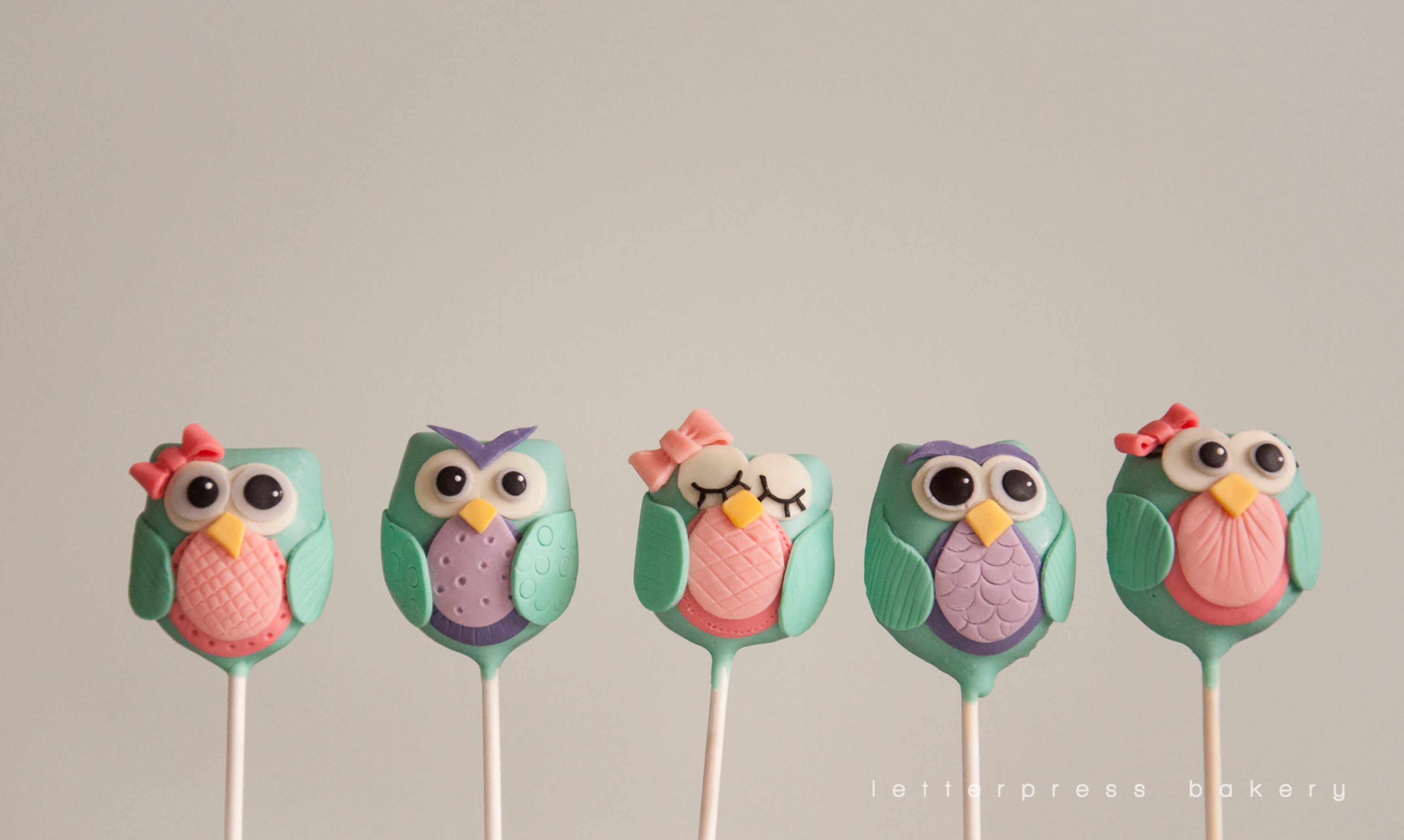 How to make owl cake pops all complete