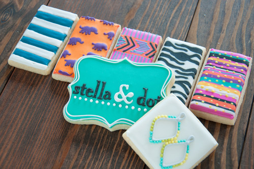 Corporate cookies for Stella and Dot