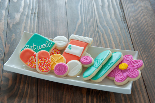 Get Well cookie set for Pharmacy