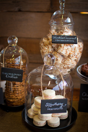 Jars of baked treats to fit the theme