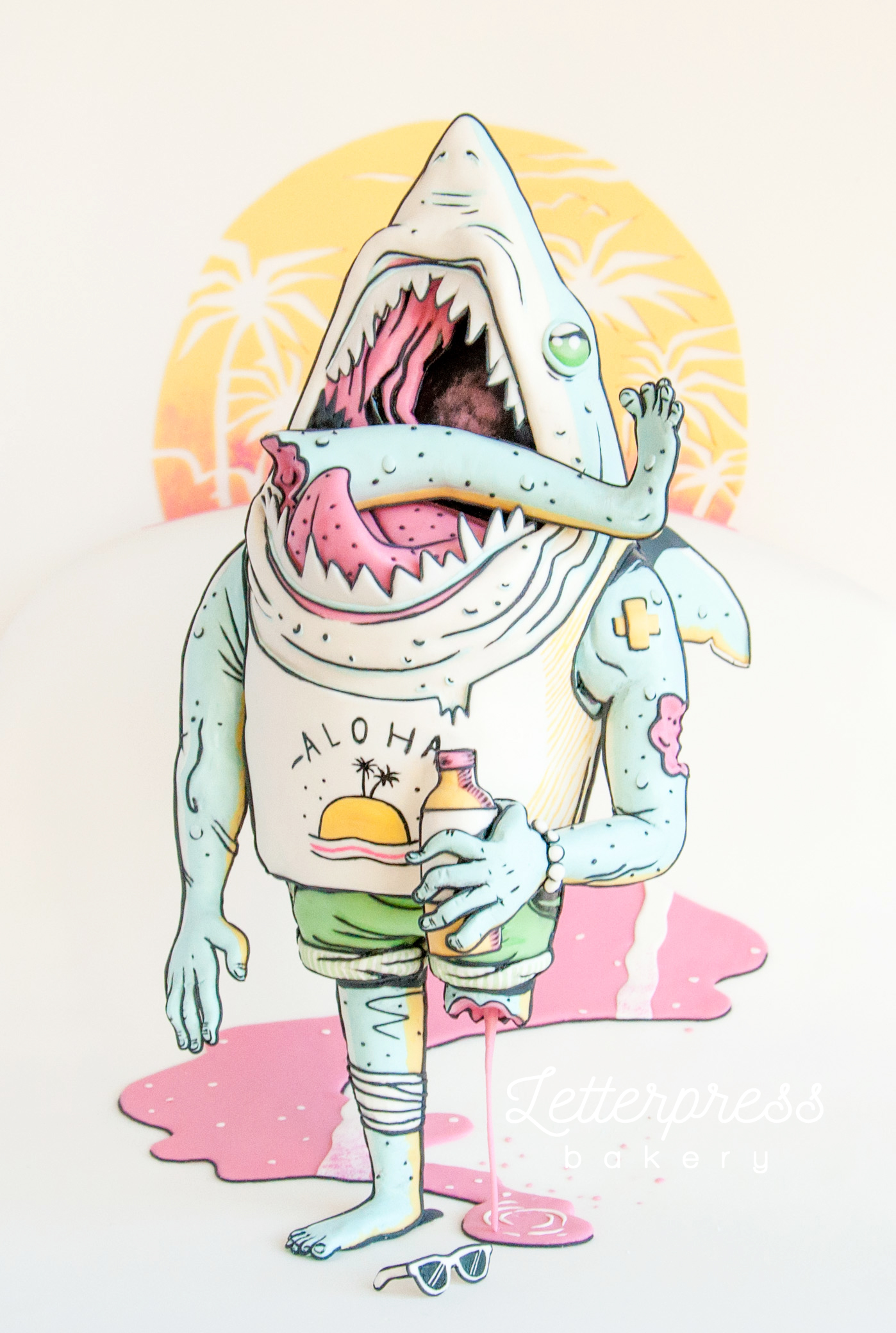 Sharkbro my 2015 Threadcakes entry
