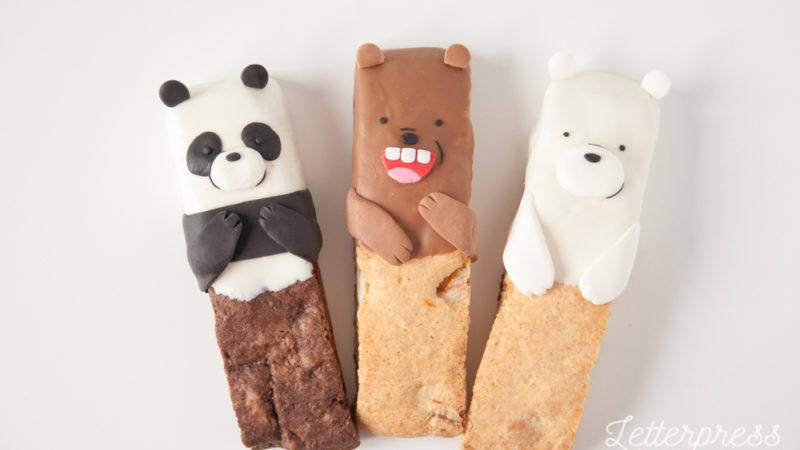 We Bare Bears Biscotti